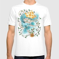 Underwater Tales - The B… Mens Fitted Tee White SMALL