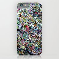 iPhone & iPod Case featuring After Pollock by Katie Troisi
