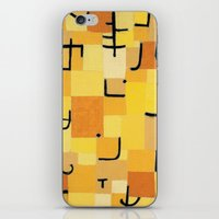Paul Klee - Signs In Yellow iPhone & iPod Skin