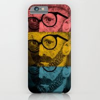 iPhone & iPod Case featuring Hipster Van Gogh by Josrick