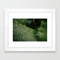 Droplets III Framed Art Print