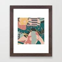 Tribal Pastels Framed Art Print