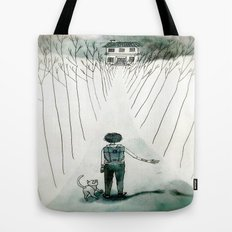 so lonely and so lost... Tote Bag