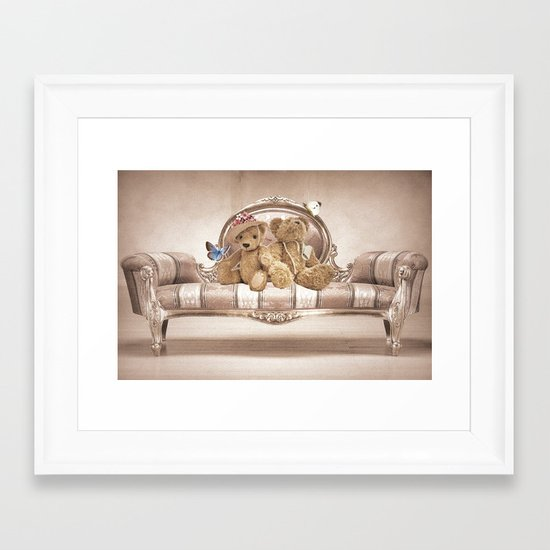 Teddies Framed Art Print