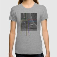 The Racing Line Womens Fitted Tee Athletic Grey SMALL