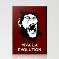 VIVA LA EVOLUTION Stationery Cards