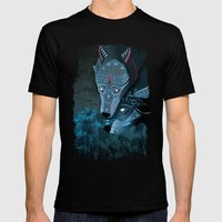 I am neither walker nor sleeper Mens Fitted Tee Black SMALL