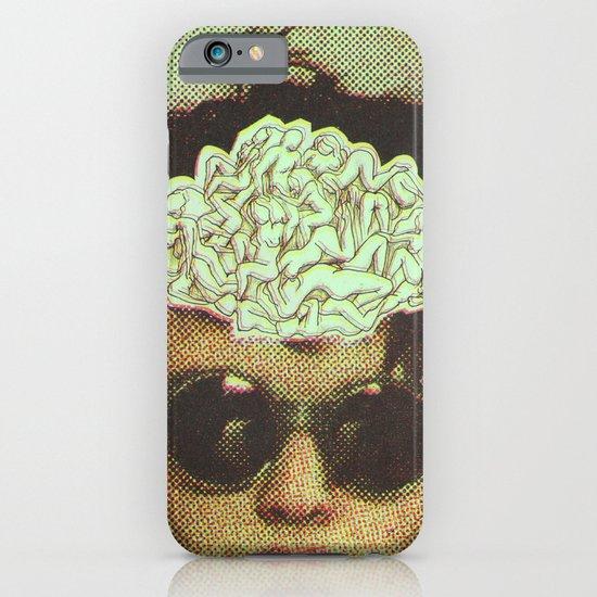 the human brain iPhone & iPod Case