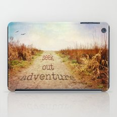 Seek out adventure iPad Case
