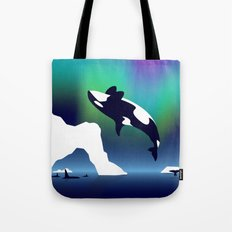Paper Craft Orca Tote Bag