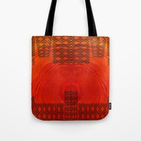 City in a morning Tote Bag