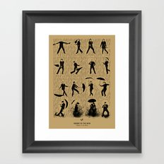 Singin' In The Rain Framed Art Print