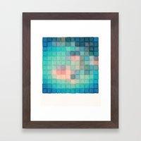 Polaroid Pixels VI (Crab… Framed Art Print