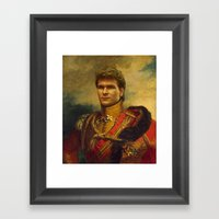 Patrick Swayze - Replace… Framed Art Print