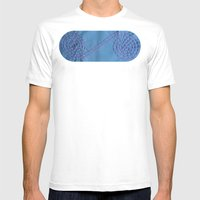 Internity or Circle of life Mens Fitted Tee White SMALL