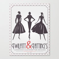 Twilfitt and Tatting's Canvas Print