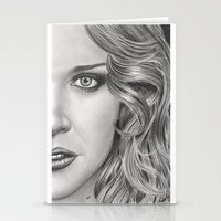 Half Portrait Stationery Cards