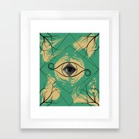 In the Eye of the Beholder Framed Art Print