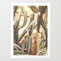 Cactus Jungle Art Print