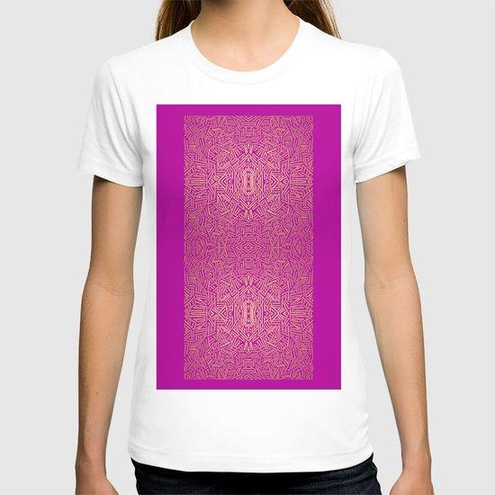 Radiate (Yellow/Ochre Raspberry) T-shirt