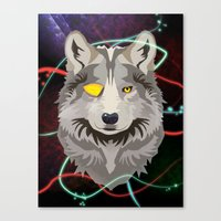 Odinwolf Canvas Print