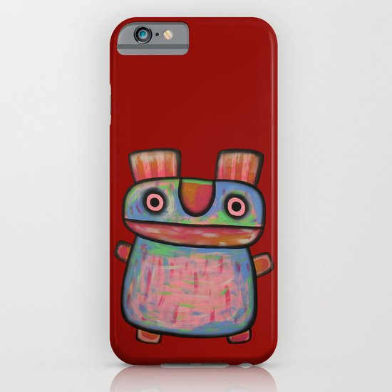 Rabbit work out iPhone & iPod Case