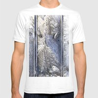 Frost Owl Mens Fitted Tee White SMALL