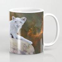 Rare White Lion  Mug