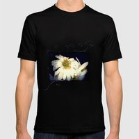 Anemone in the darkness Mens Fitted Tee Black SMALL