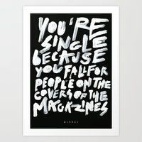 COVERS Art Print