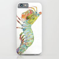 iPhone & iPod Case featuring Peacock Mantis Shrimp by Hannah Rodgers