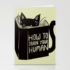 How To Train Your Human Stationery Cards