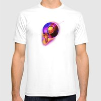 Spiritual Alignment Mens Fitted Tee White SMALL