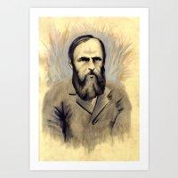 Достое́вский Art Print