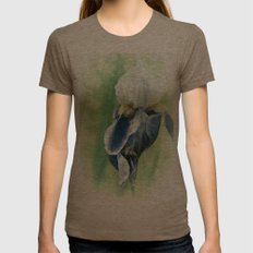 SUMMER DREAM Womens Fitted Tee Tri-Coffee SMALL
