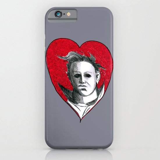 Micheal Myers (All Heart) iPhone & iPod Case