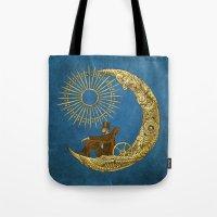 Moon Travel (Colour Opti… Tote Bag