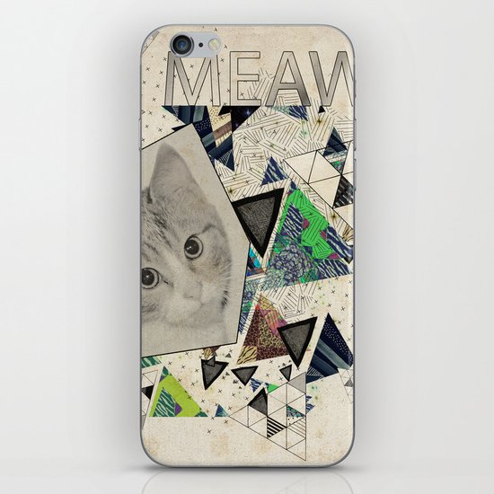 ░ MEAW ░ iPhone & iPod Skin