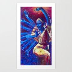 Goddess Nataraj Art Print