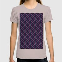 Pattern Womens Fitted Tee Cinder SMALL