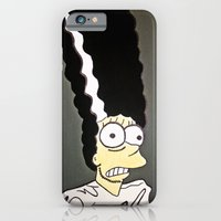 iPhone & iPod Case featuring Marge, The Bride by TrillsSmith