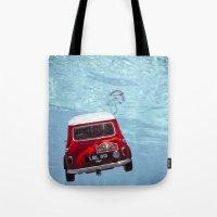 Deep Water Swimming Mini… Tote Bag
