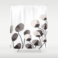 Autumn flowers Shower Curtain