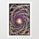 Astral Connection - for iphone Art Print