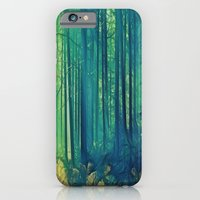 iPhone & iPod Case featuring Eyes On The Forest, Not On The Trees. by ALLY COXON