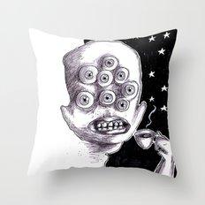 It's a starry coffeenight Throw Pillow