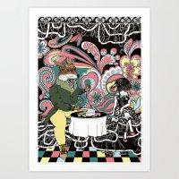 Crow Serie :: The Crow &… Art Print