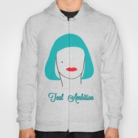Teal Ambition Hoody