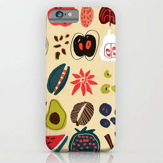 Fruit and Spice Rack iPhone & iPod Case