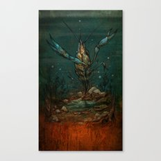 Crooked Creek #1 Canvas Print